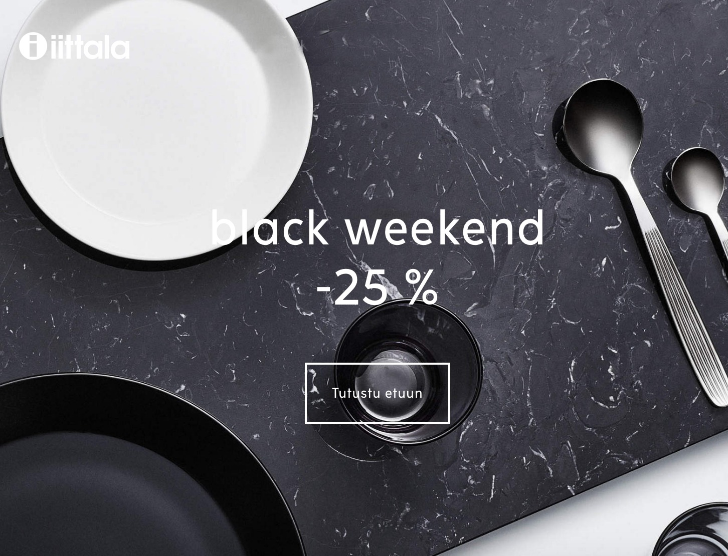 iittala Black Weekend 2019
