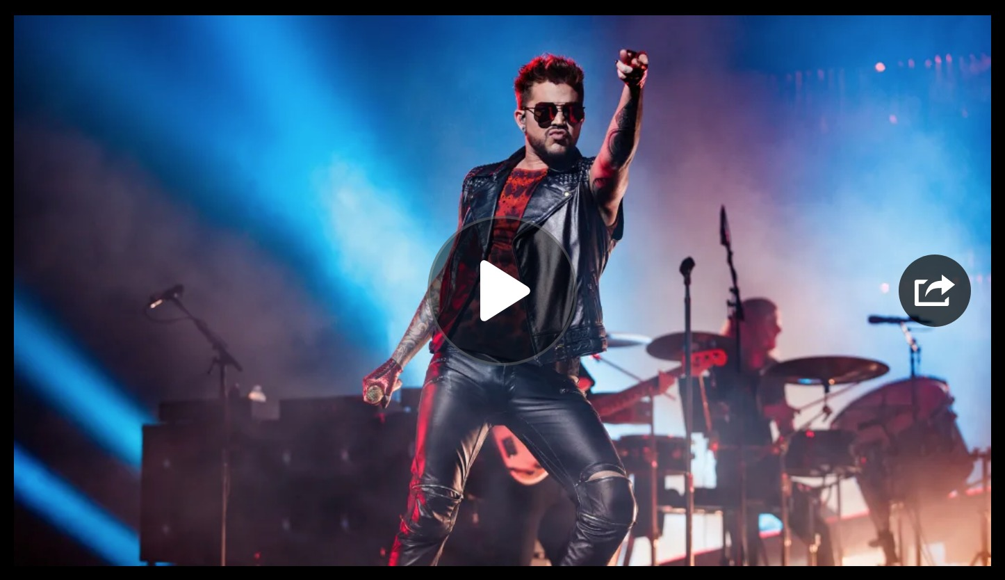 The show must go on - The Queen Adam Lambert Story dokumentti konsertti